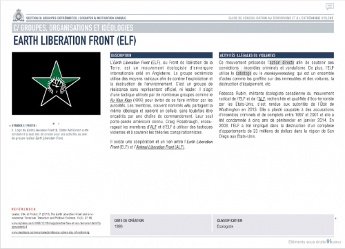 EARTH LIBERATION FRONT document francais.jpg