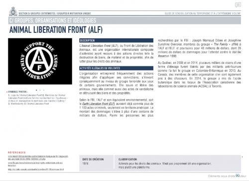 ANIMAL LIBERATION FRONT document francais.jpg